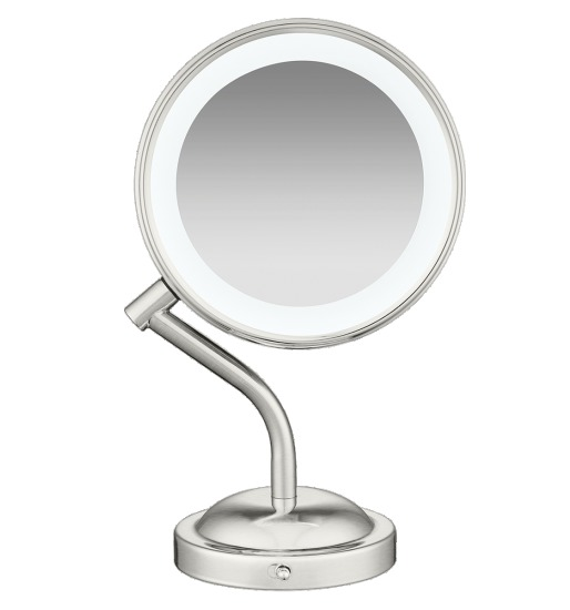 Conair Adorn LED Lighted Mirror (5x/1x Magnification)