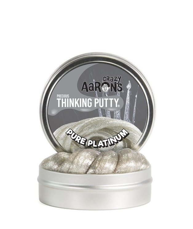 Crazy Aarons Thinking Putty: Pure Platinum