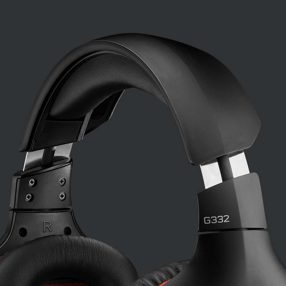 Logitech G332 Wired Gaming Headset for PC image
