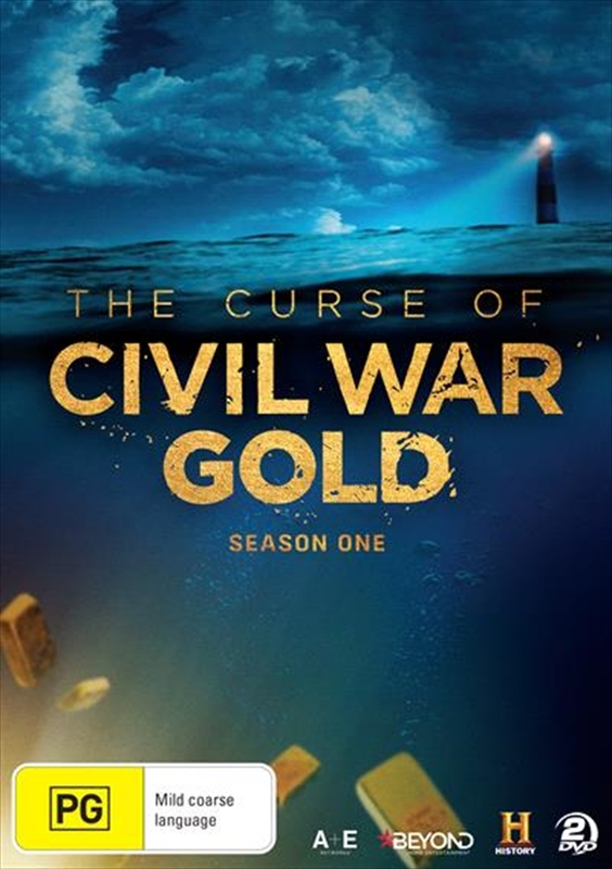 Curse Of The Civil War Gold - The Complete First Season on DVD