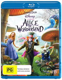 Alice in Wonderland on Blu-ray