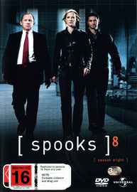 Spooks - Season 8 (3 Disc Set) on DVD