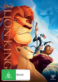 The Lion King on DVD image