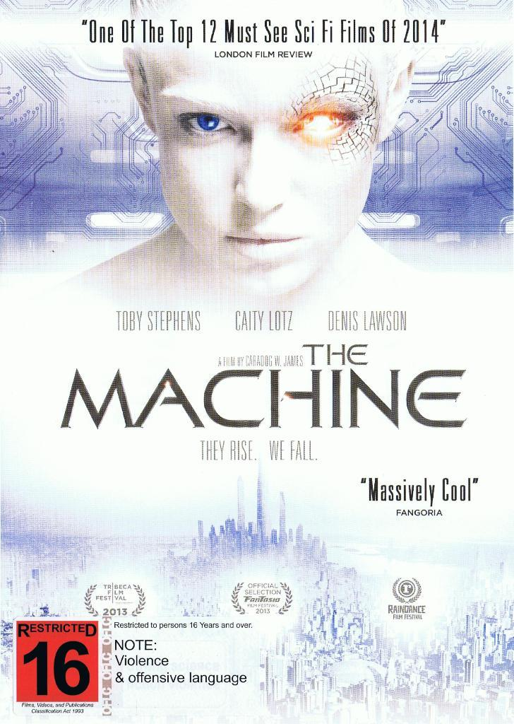The Machine on DVD image