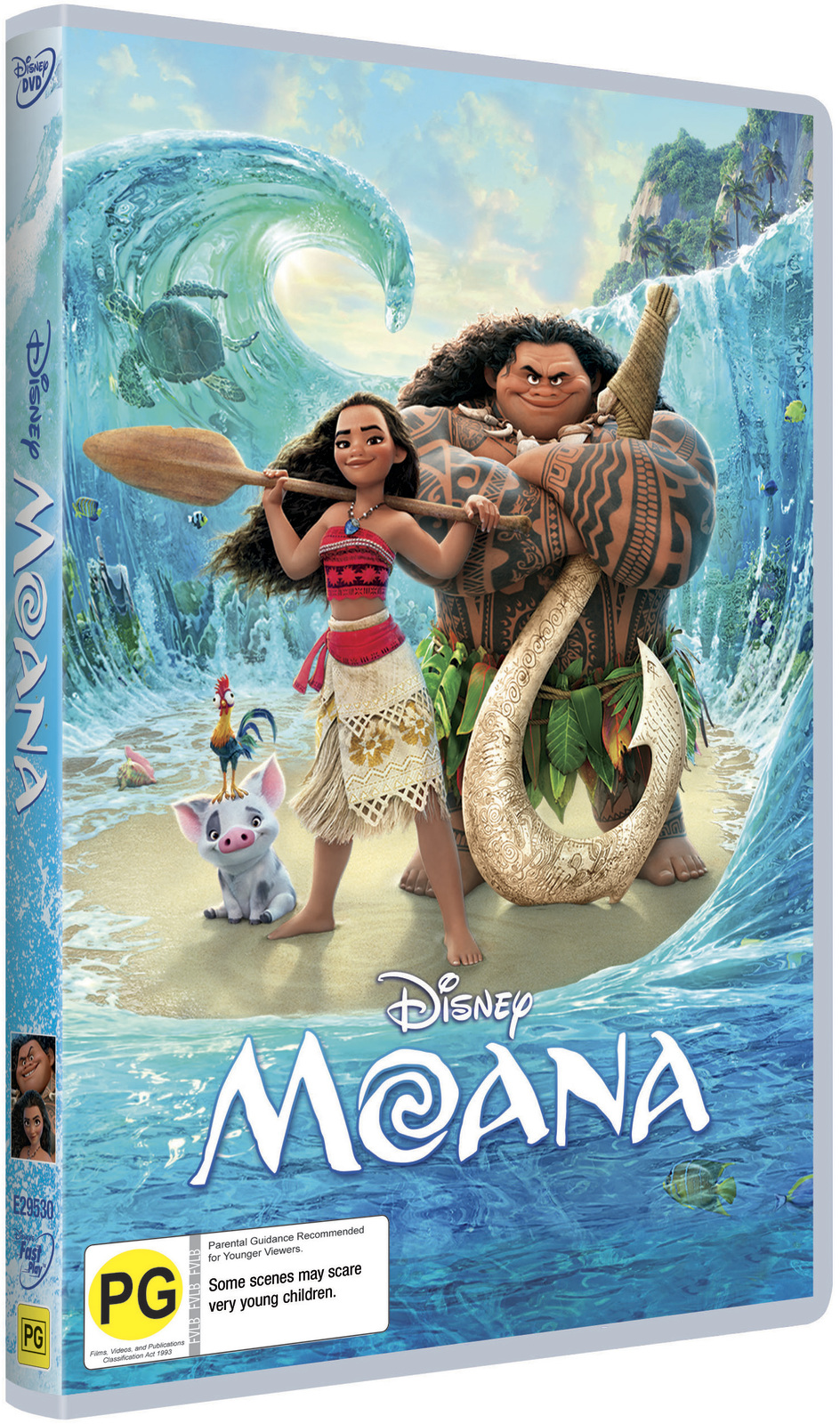 Moana on DVD image