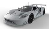 Scalextric Legends: Le Mans Ford GT MKII/GTE - Slot Car