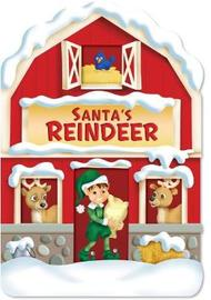 Christmas House Board Book Santa's Reindeer image