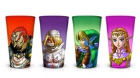 Legend of Zelda: Ocarina of Time - Pint Glass Set (4-Pack)