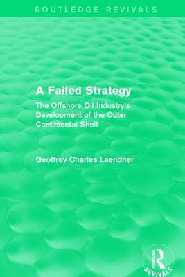 : A Failed Strategy (1993) by Geoffrey C. Laendner image