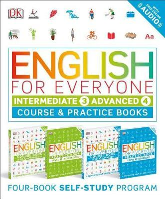 English for Everyone Slipcase: Intermediate and Advanced by DK image