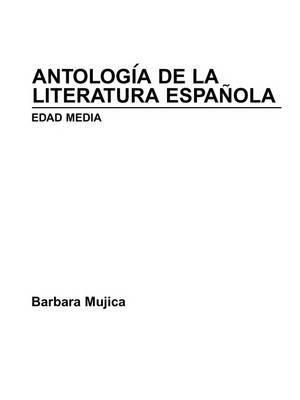 Antologia de la Literatura Espanola: Edad Media image