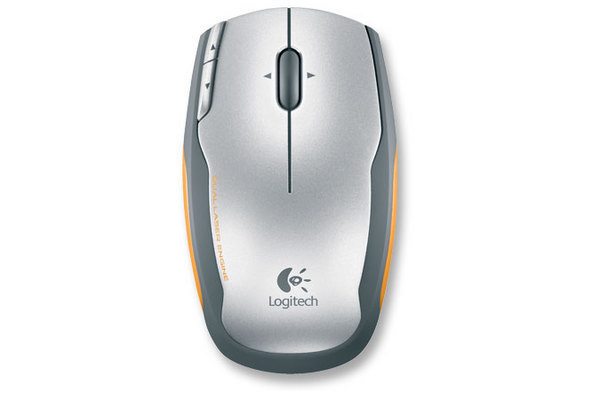 LOGITECH V400 Laser Cordless Mouse for Notebooks - Grey