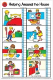 Learning Can Be Fun - Helping Around the House - Wall Chart