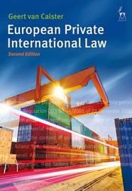 European Private International Law by Geert Van Calster