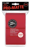 Ultra Pro: Pro-Matte Deck Protectors - Standard Red (100ct)