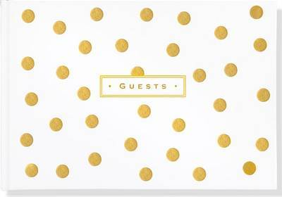 Guest Book Gold Dots