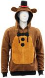 Five Nights at Freddy's - Fleece Hooded Sweatshirt (Large)