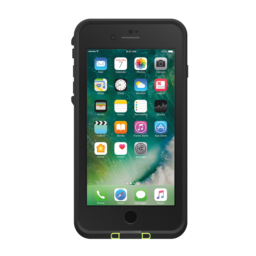 LifeProof Fre Case for iPhone 7 Plus/8 Plus - Black Lime image