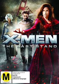 X-Men 3: The Last Stand on DVD image