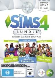 The Sims 4 Bundle Pack 11 (code in box) for PC Games image