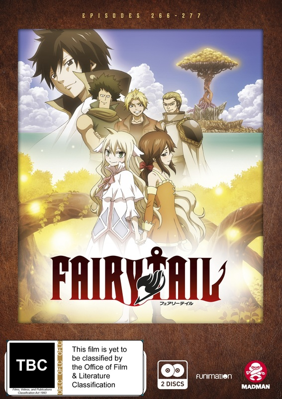 Fairy Tail Zero - Complete Series on DVD