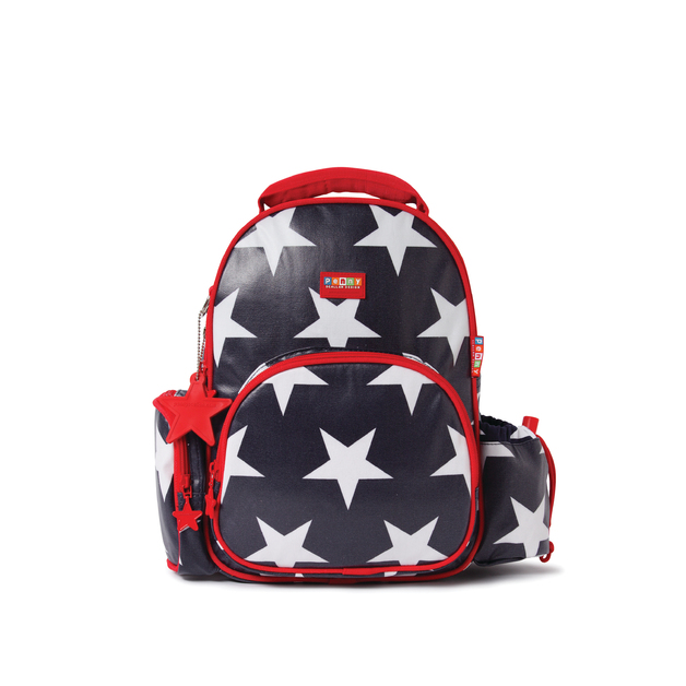 Penny Scallan: Backpack Medium Navy Star