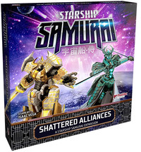 Starship Samurai: Shattered Alliances - Expansion Set