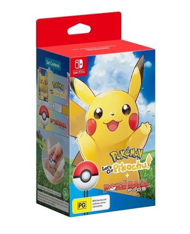 Pokemon Let's Go Pikachu! Bundle for Switch