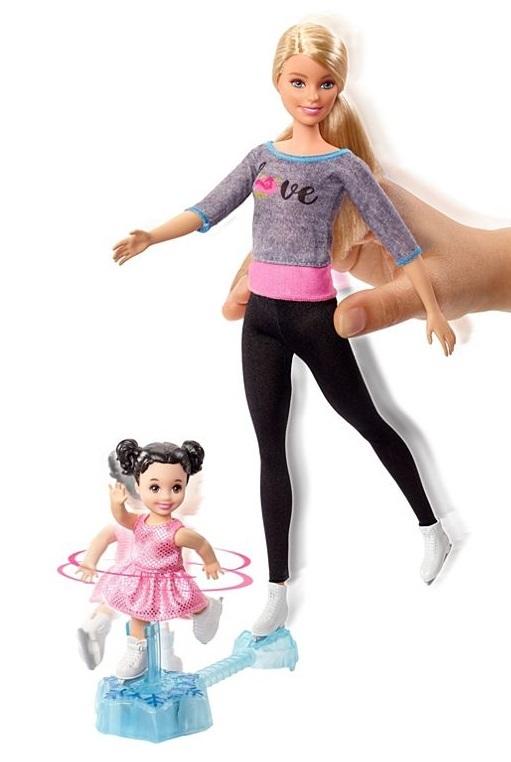 Barbie Careers - Iceskating Coach Playset