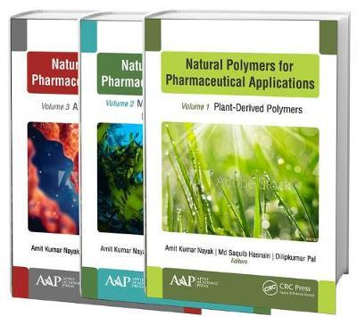 Natural Polymers for Pharmaceutical Applications, 3-volume set