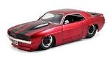 Jada: 1/24 Met Red '69 Chev Camaro - Diecast Model