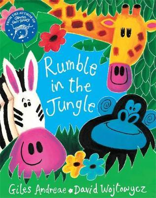 The Rumble in the Jungle (Book + CD) by Giles Andreae image