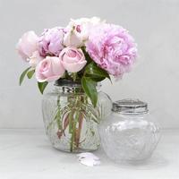 Vintage Flower Globe