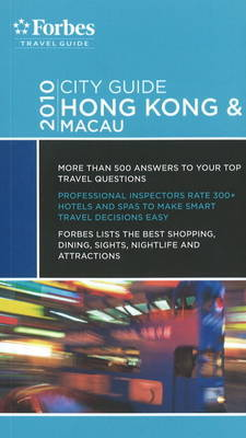 Forbes City Guide Hong Kong and Macau by Kim Atkinson