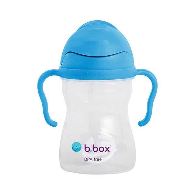 B.Box: Sippy Cup V2 - Neon Cobalt Blue
