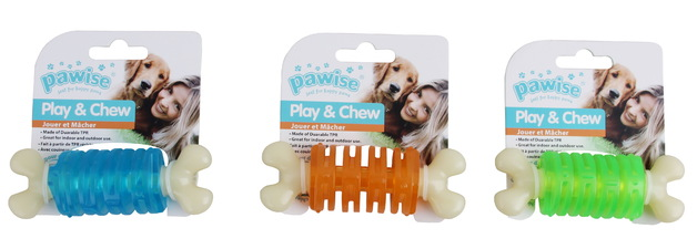 Pawise: Funny Chew Bone - Large (Ring, Asst.)