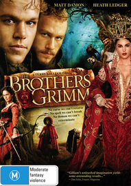The Brothers Grimm on DVD image