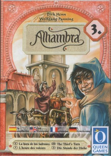 Alhambra: The Thief's Turn Expansion