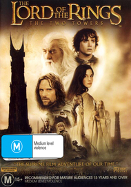 The Lord Of The Rings - The Two Towers on DVD image