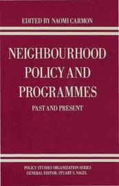 Neighbourhood Policy and Programmes image