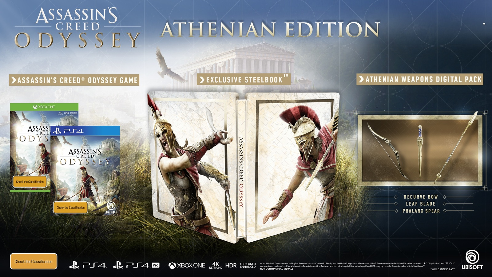 Assassins Creed Odyssey Athenian Edition PS4 On Sale