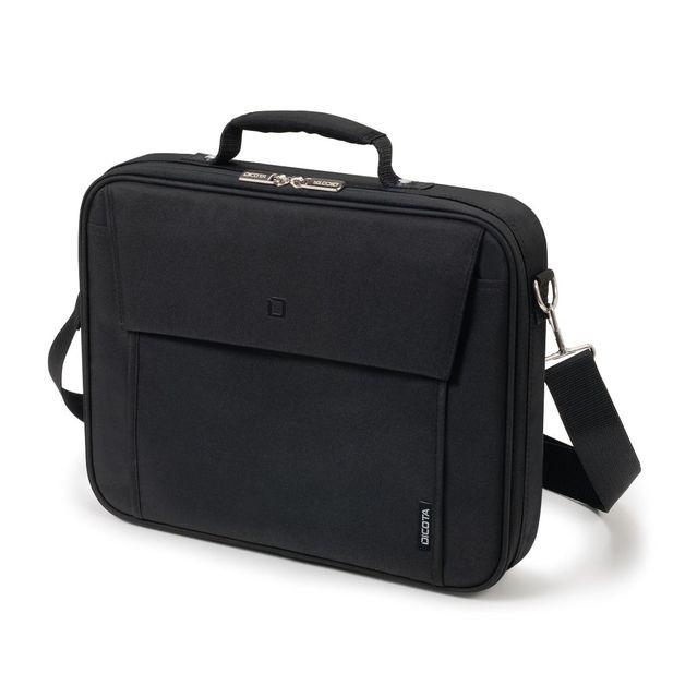 "Dicota Multi BASE Carry Bag/Case with Shoulder Strap for 14""-15.6"" Notebook/Laptop (Black)"