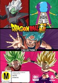 Dragon Ball Super - Collection 2 on DVD image