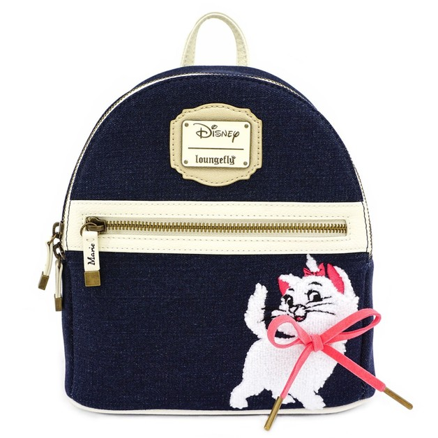 Loungefly: Aristocats - Marie Denim Mini Backpack