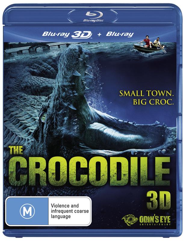 The Crocodile 3D on Blu-ray, 3D Blu-ray