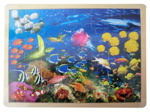 Fun Factory: Wooden Puzzle - Sealife