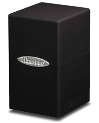 Ultra Pro: Satin Tower Deck Box - Black