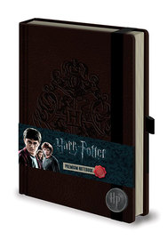 Harry Potter Premium Notebook (A5, Hogwarts Crest)