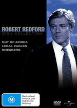 Robert Redford Movie Collection (Out of Africa / Legal Eagles / Sneakers) (3 Disc Set) on DVD