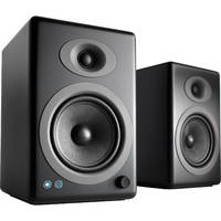 Audioengine: 5+ Wireless Powered Speakers (pair) - Satin Black